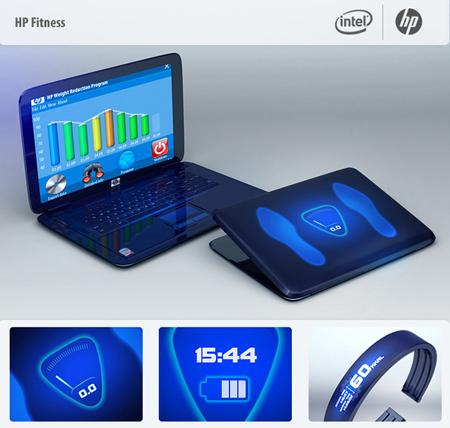 Laptop HP Fitness