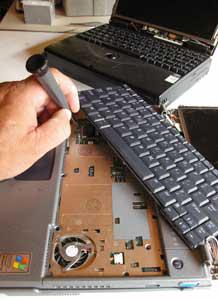 Wymiana Klawiatur HP Laptopy
